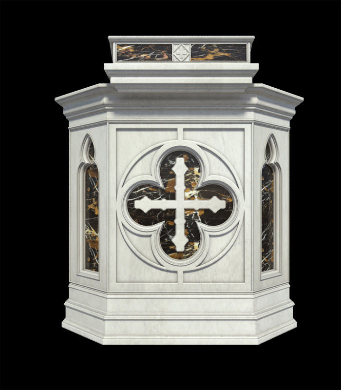 Marble Church Products  - Marble Church Podium - MCH-014