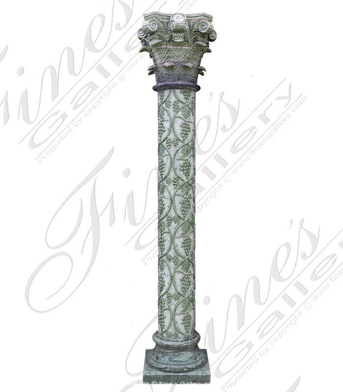 Marble Columns  - Green Marble Column - MCOL-101