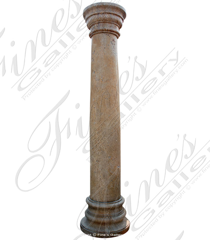 Marble Columns  - Tuscan Marble Column - MCOL-288