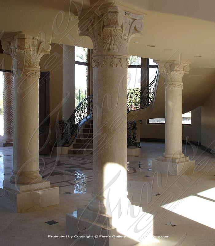 Search Result For Marble Columns  - Tuscan Style Onyx Column - MCOL-319