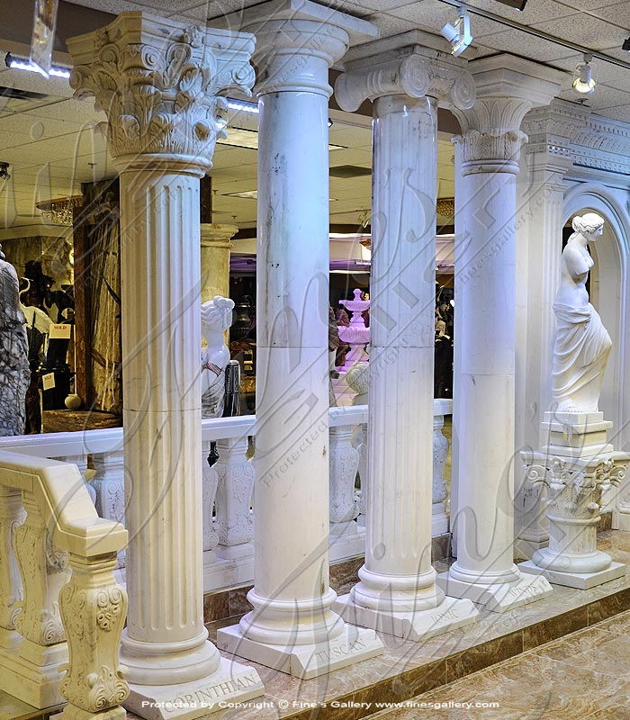 Variety of Traditional Marble