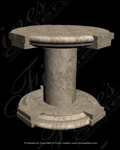 Marble Customs  - Custom Marble Table - MCU-018