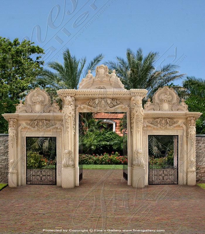 Grand Marble Doorway