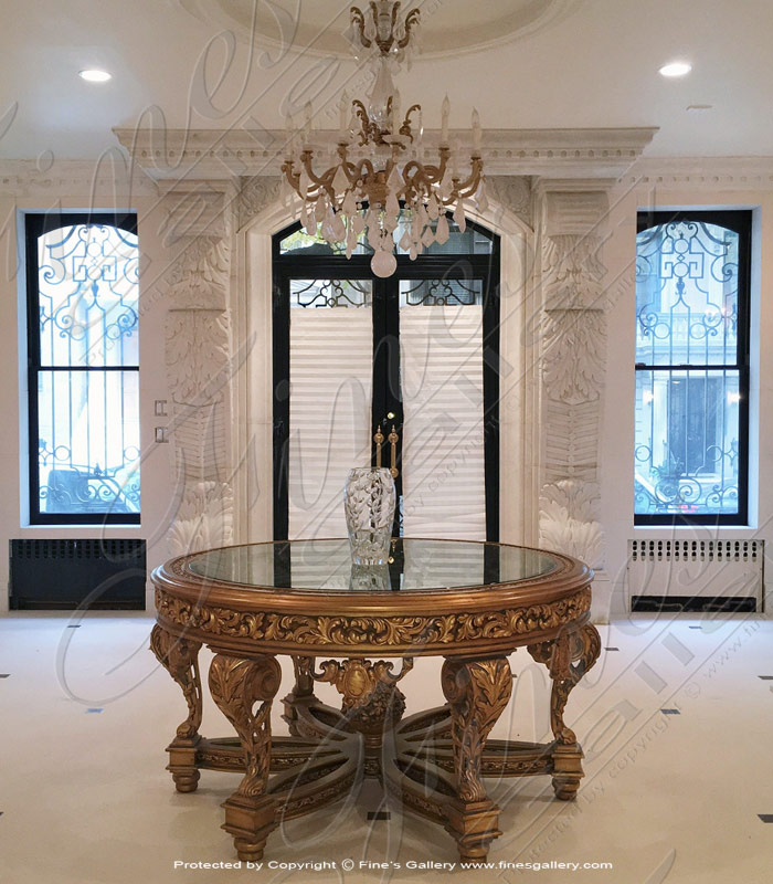 Marble Doorways  - New York, NY Custom Marble Door Surround - MD-158