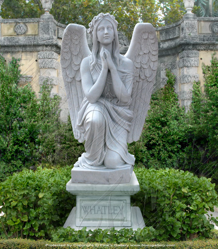Search Result For Marble Memorials  - Guardian Angel Marble Memorial - MEM-042