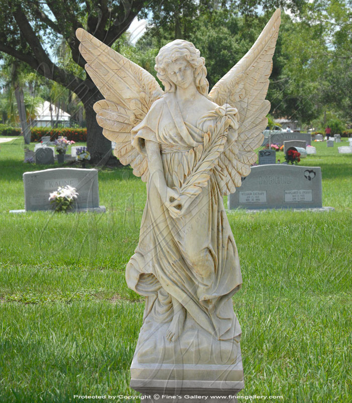 Marble Memorials  - Infant Rose Bed Marble Memorial - MEM-290