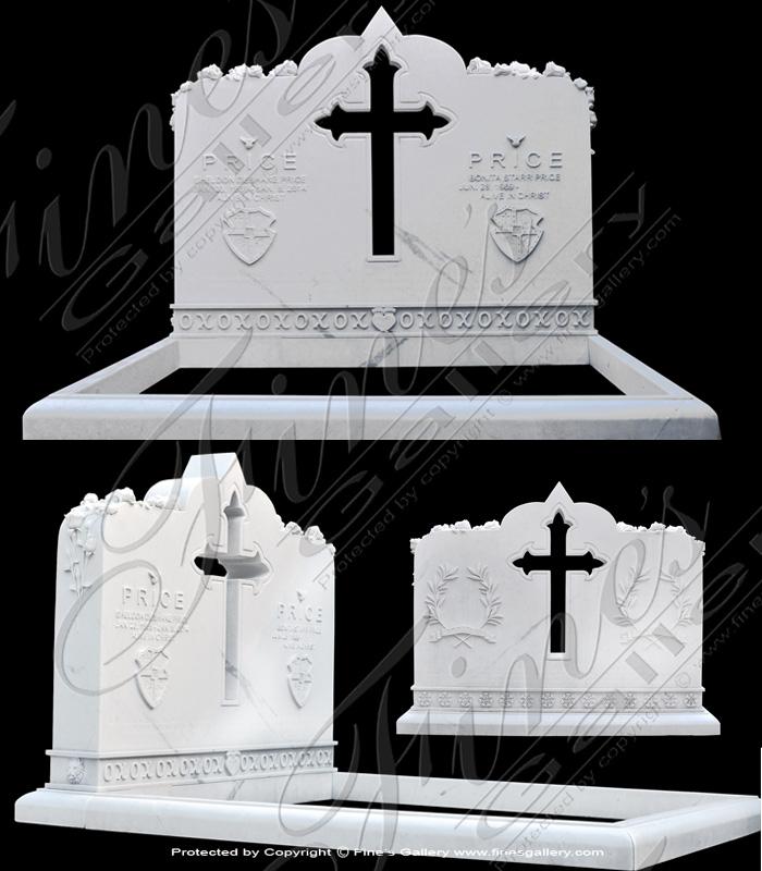 Custom Designed Marble Memoria