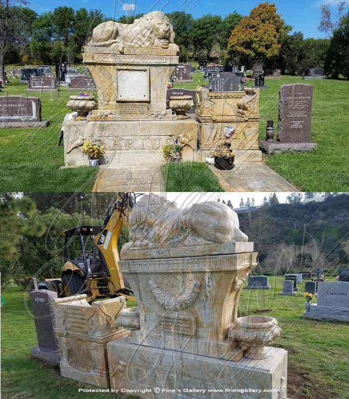 Custom Granite Monument