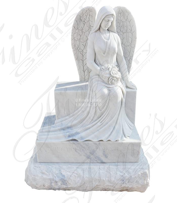 Angel on Bench With Rocky Sub Base