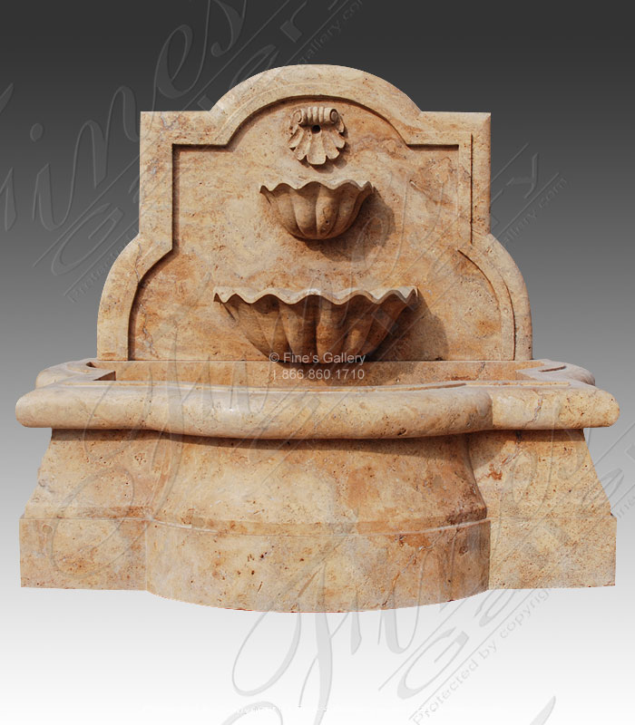 Shell Marble Fountain