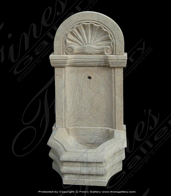 Marble Fountains  - Translucent Onyx Wall Fountain - MF-1530