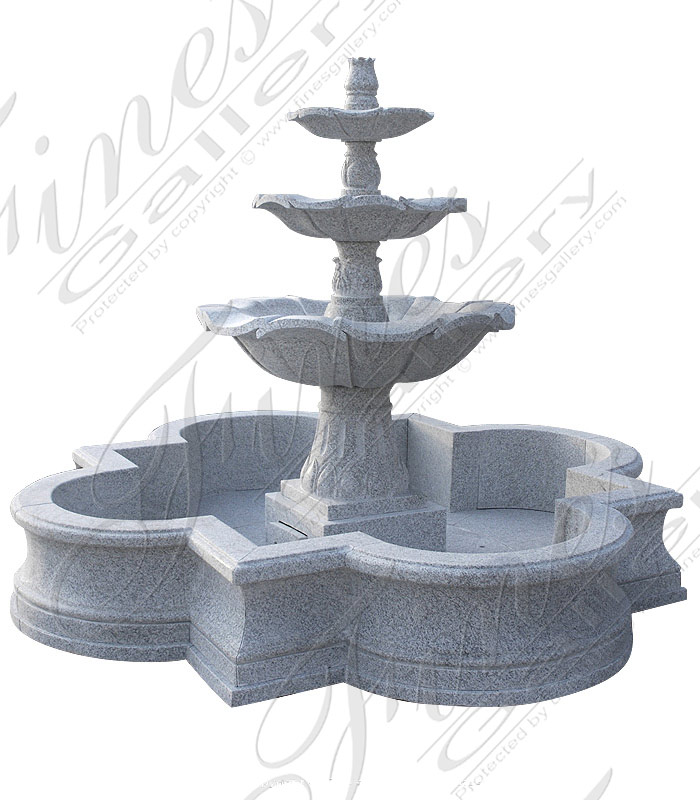 Gray Granite Fountain