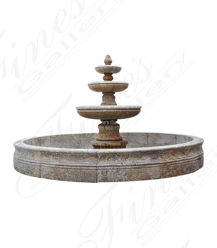 Marble Fountains  - Granite Motor Court Fountain - MF-1267
