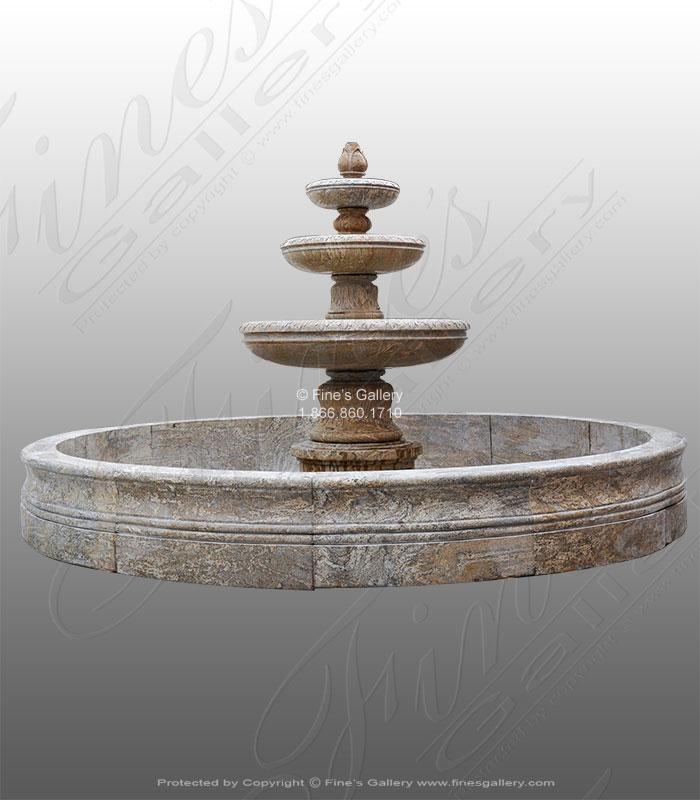 Houston TX Granite Motor Court Fountain