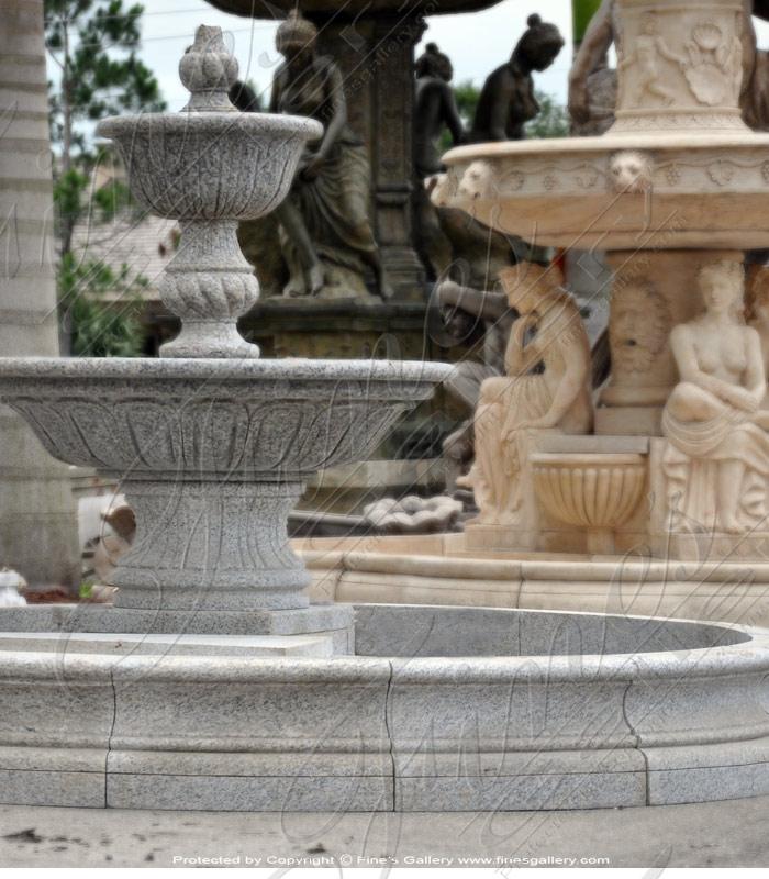Imperial Granite Fountain