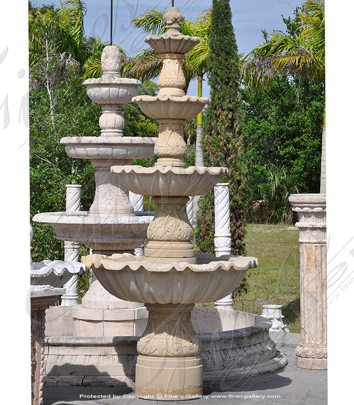 Marble Fountains  - Three Tier Fountain - MF-1021