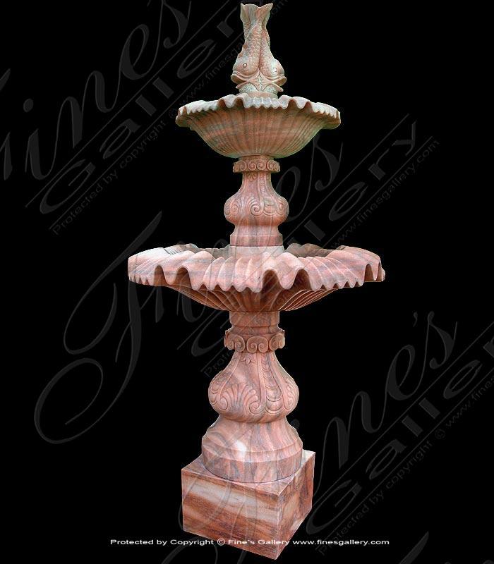 Island Fantasy Marble Fountain