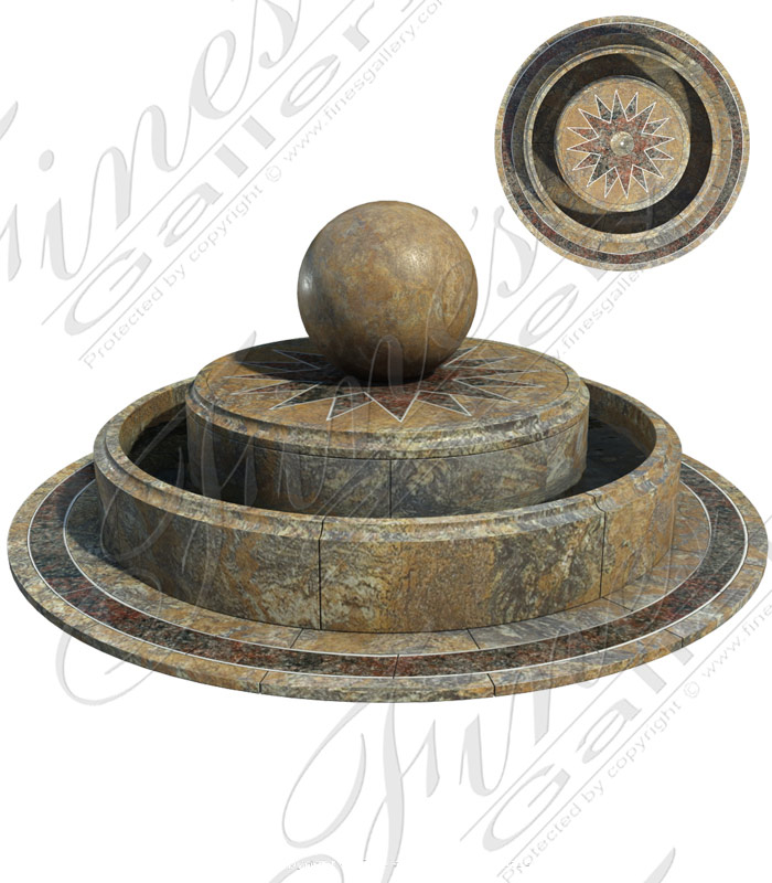 Custom Designed Sphere Fountai