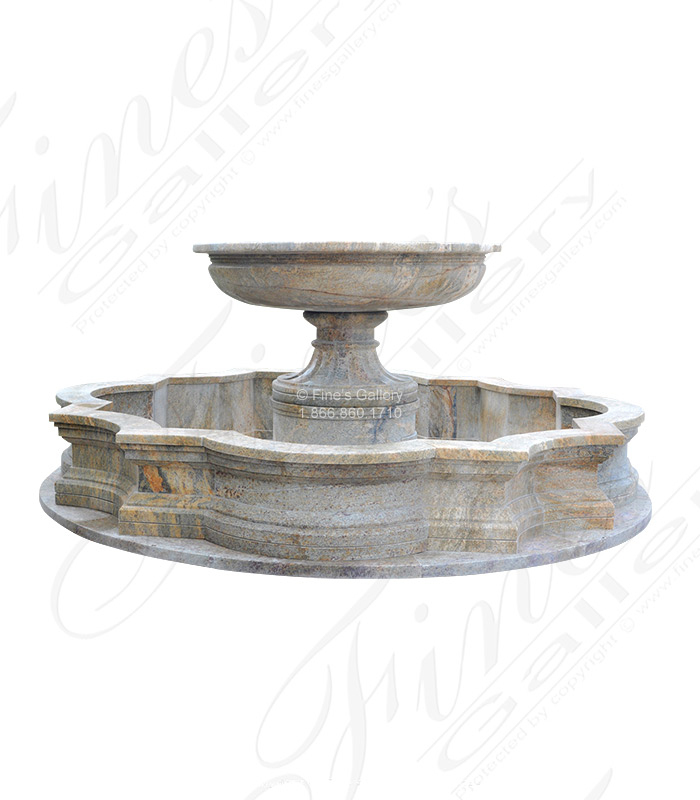 One Tiered Granite Fountain