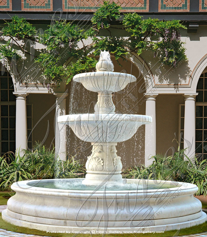 Marble Fountains  - Pure Onyx Fountain - MF-1595