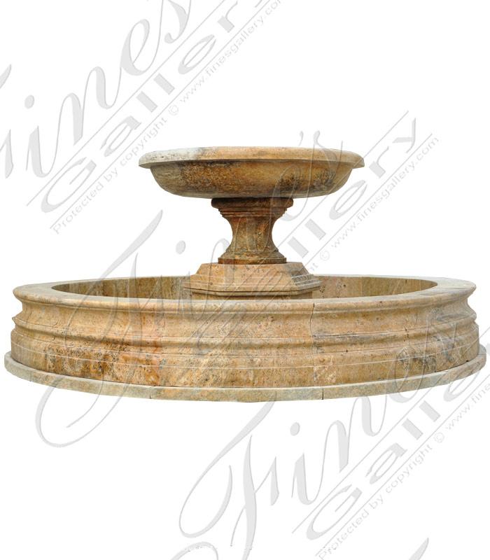 One Tier Granite Fountain