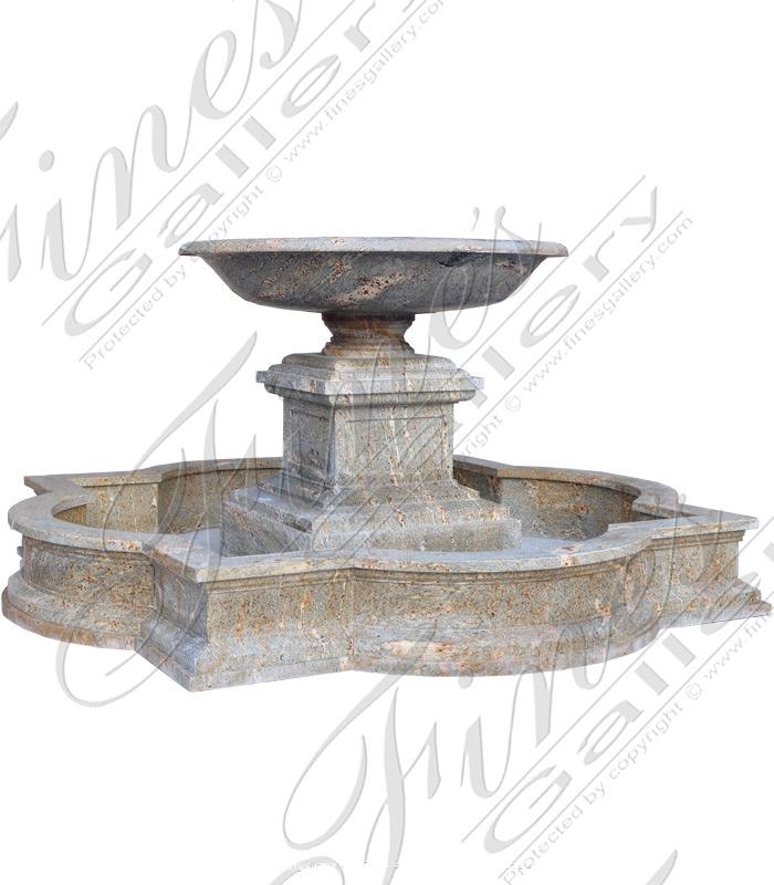 Classic One Tier Granite Fountain