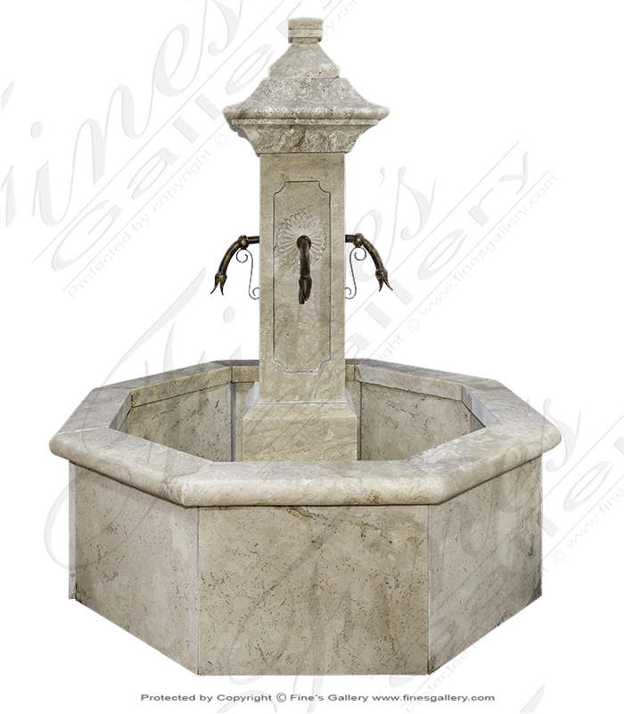 French Countryside Fountain