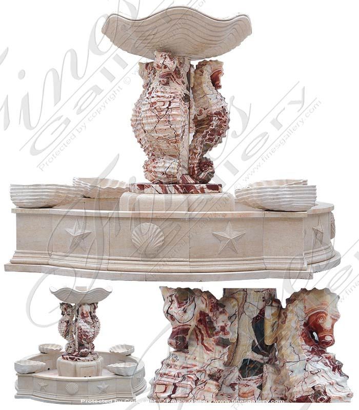 Marble Fountains  - Marble Fountain - MF-1636