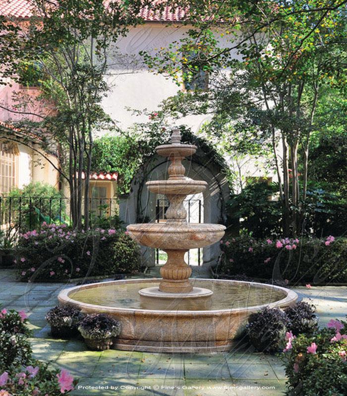 Marble Fountains  - Granite Fountain - MF-1551