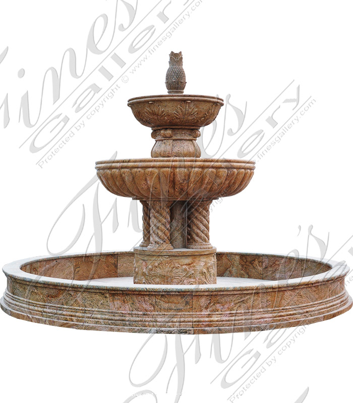 Luxury Motorcourt Granite Fountain
