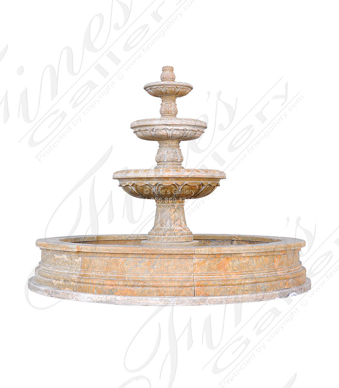 Grecian Gardens Granite Fountain