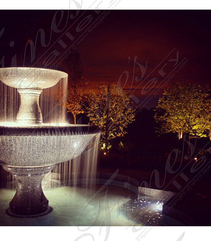 Luxurious Granite Rains Garden Fountain