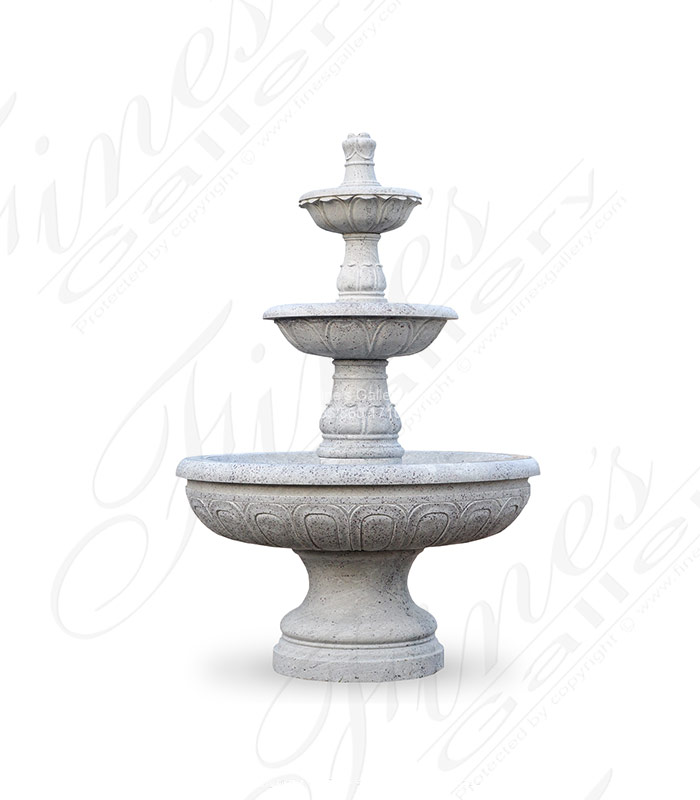 Marble Fountains  - Luxurious Granite Motor Court Fountain - MF-1329