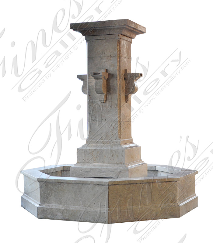 Old World Countryside Fountain