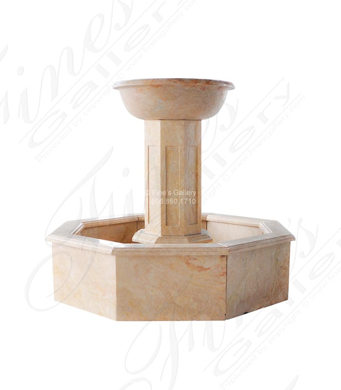 Travertine Fountain