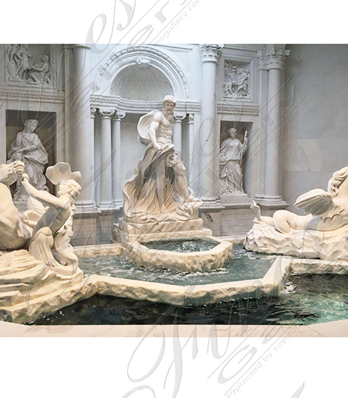 Trevi Marble Fountain Reproduction