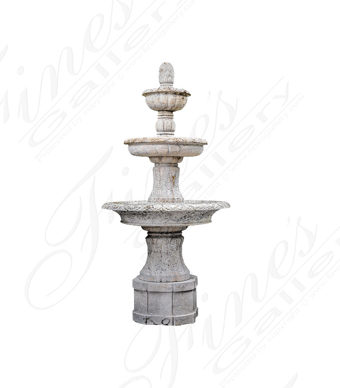 Light Beige Marble Fountain