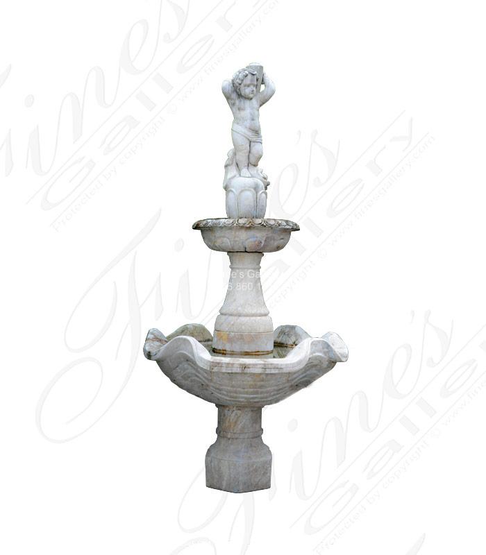 Old World Italian Style Garden Fountain