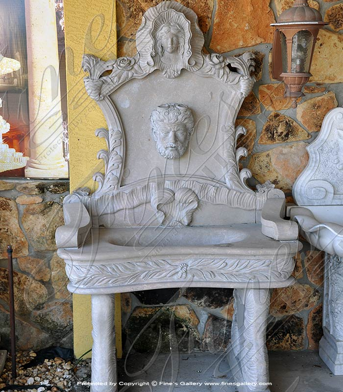 Roman Greco Wall Fountain Feature