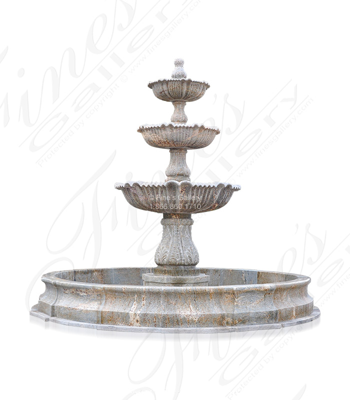 Oversized Granite Fountain