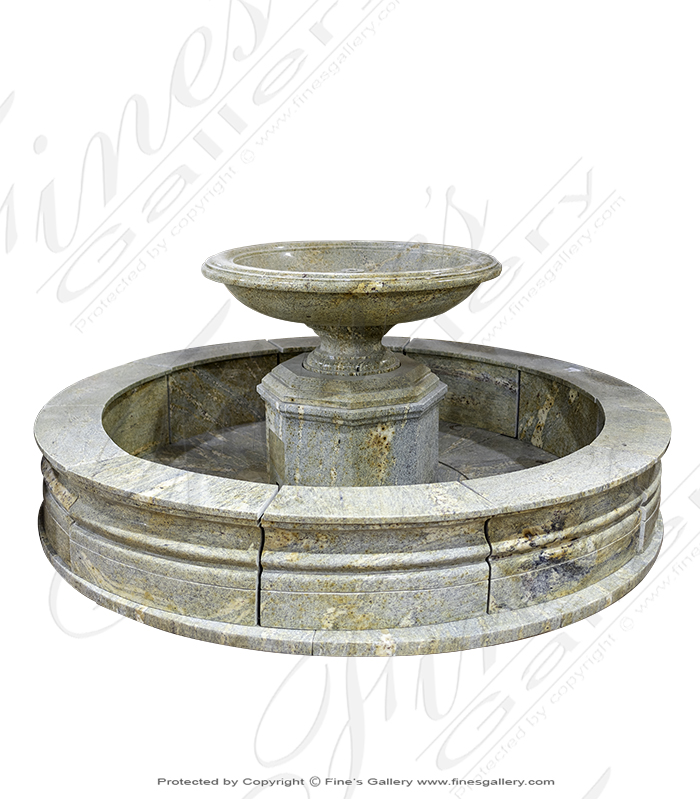 Solid Granite Roundabout Fountain