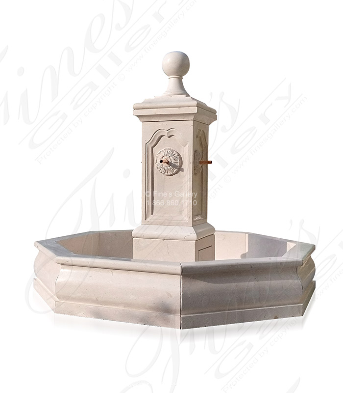 French Country Old World Fountain