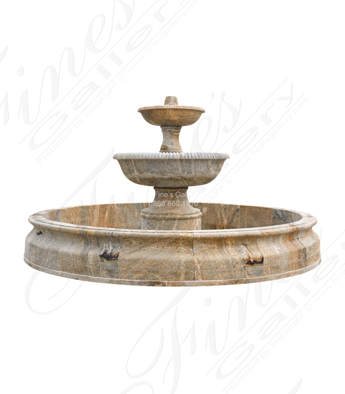 Lux Tiered Granite Fountain