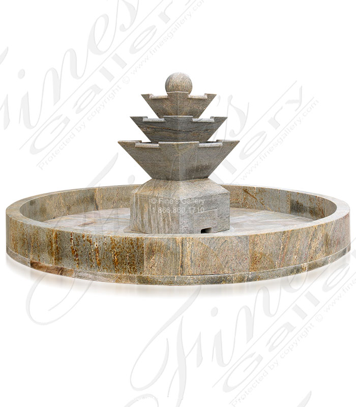 Modern Luxury Granite Fountain