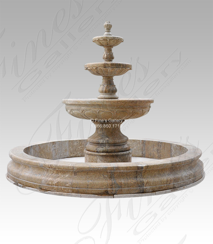 Luxurious Granite Water Fountain Feature