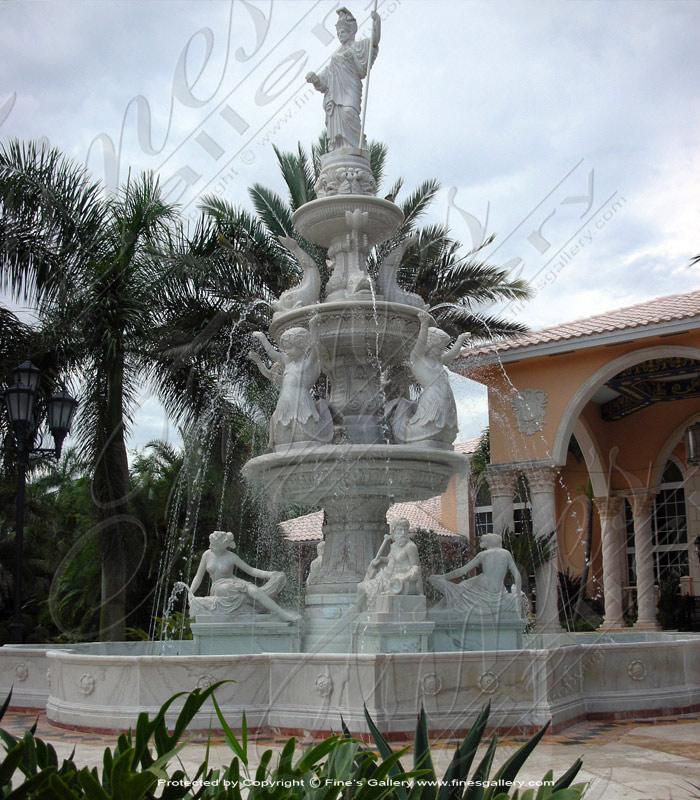 Granite style fountains