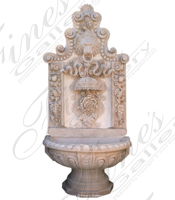 marble wall fountain mf 440