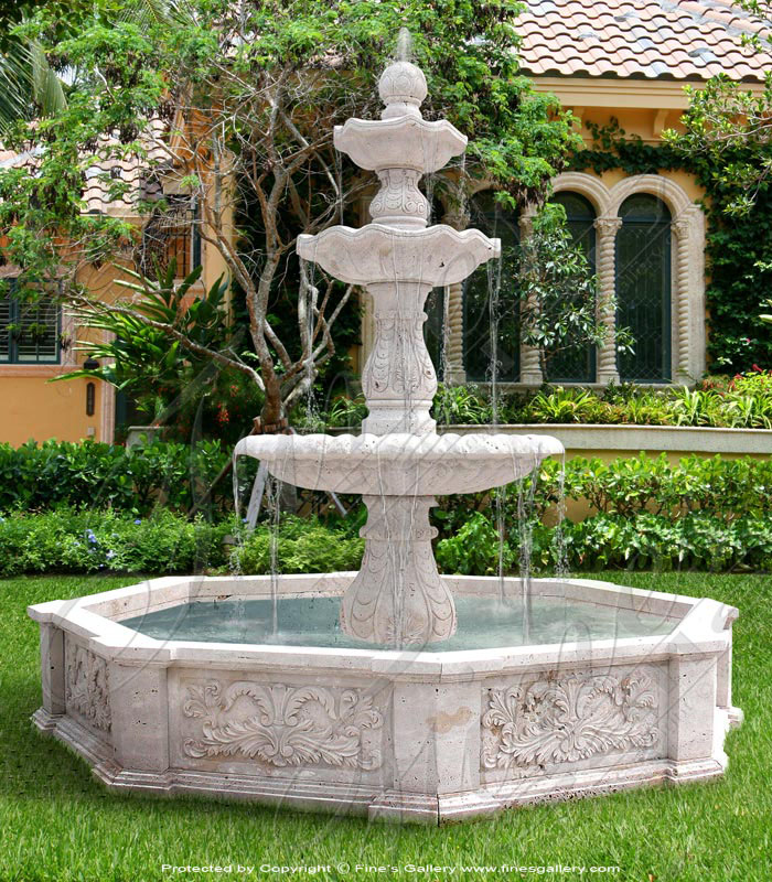 3-Tier Antique Beauty Fountain
