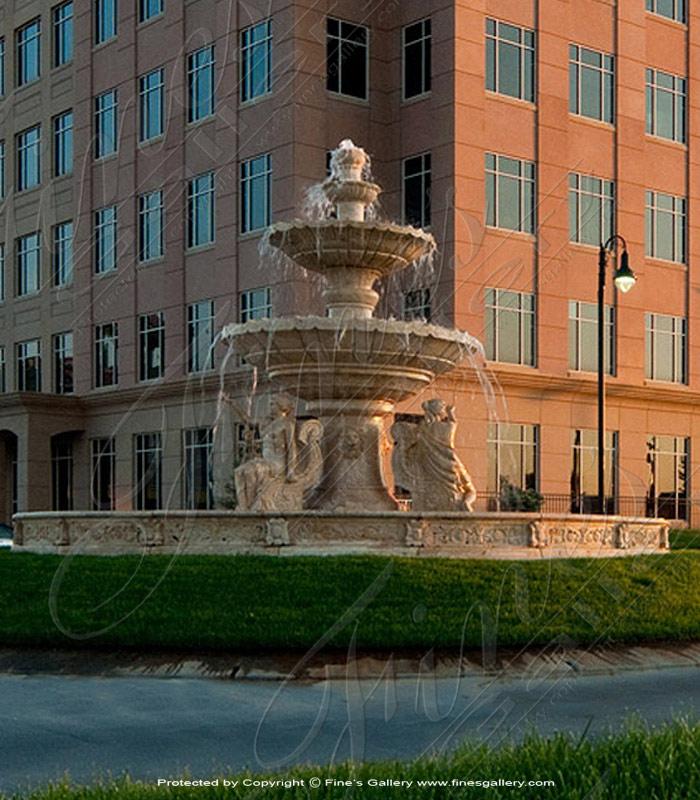 Marble Fountains  - The Estate Fountain - MF-746