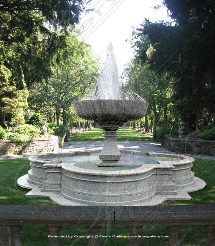 Commercial Granite Fountain